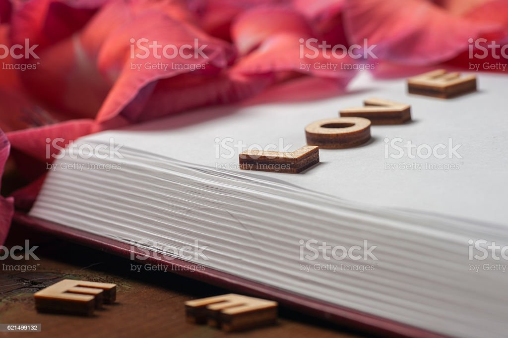 Open book on light table. foto stock royalty-free