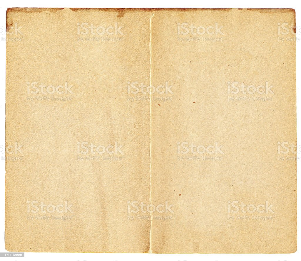 Open book page background layout layer stock photo