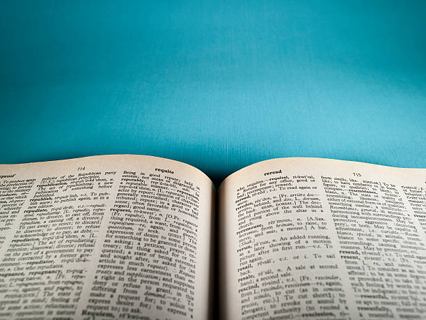 open book - dictionary stock pictures, royalty-free photos & images