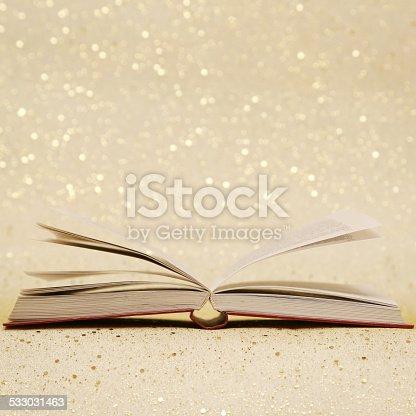 istock Open book 533031463