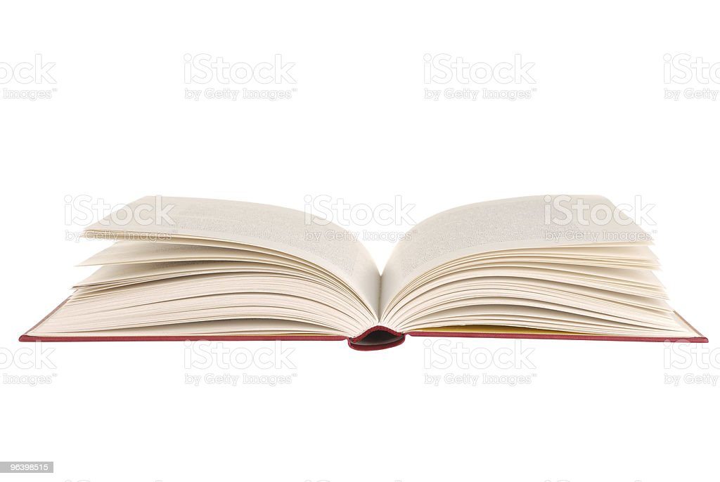 Open Book - Royalty-free Book Stock Photo