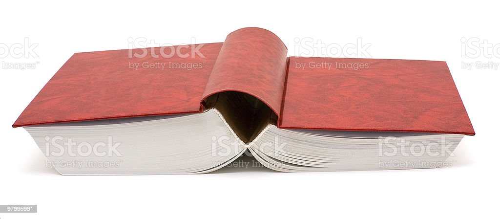 Open book royalty free stockfoto