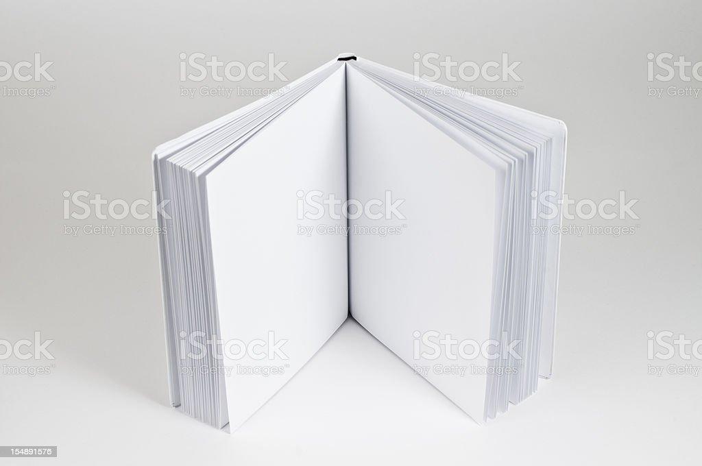open Buch stehen – Foto