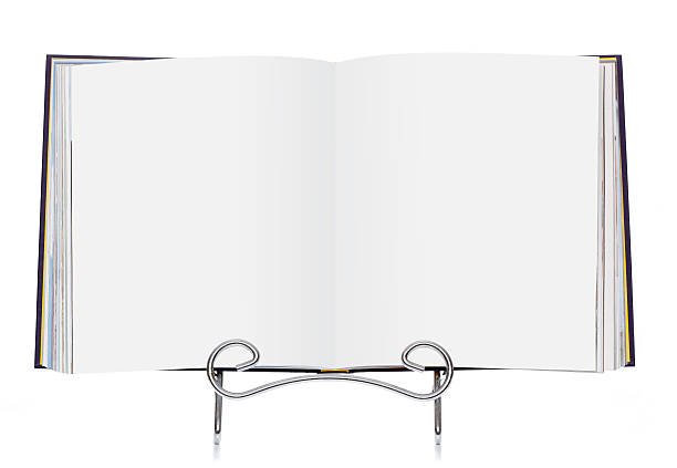 Open Book with blank / empty pages