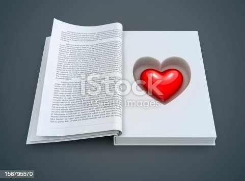 503130452istockphoto open book with red heart inside 156795570