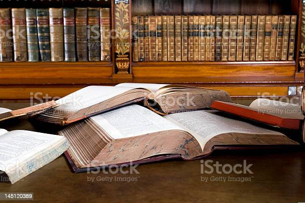 Open Books Stock Photo - Download Image Now