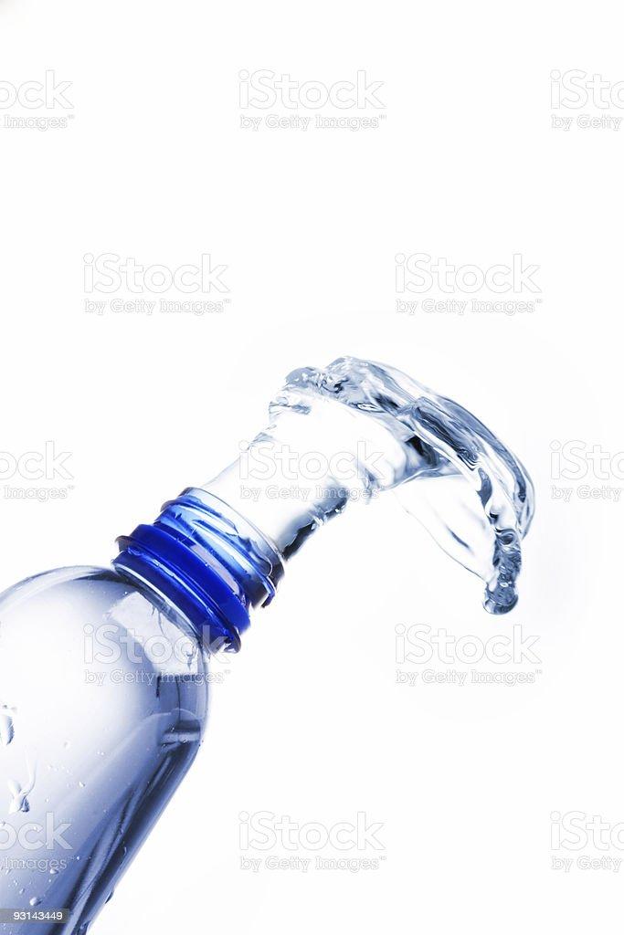 open bottle royalty-free stock photo
