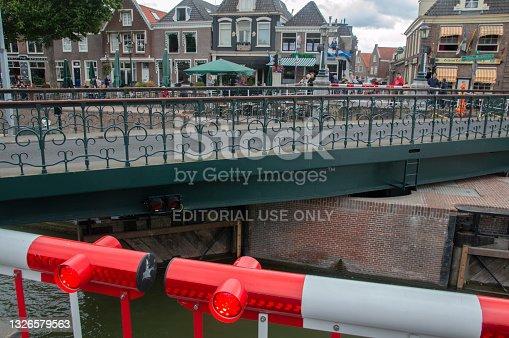 istock Open Bridge At The Zeesluis Sluice Muiden The Netherlands 1326579563
