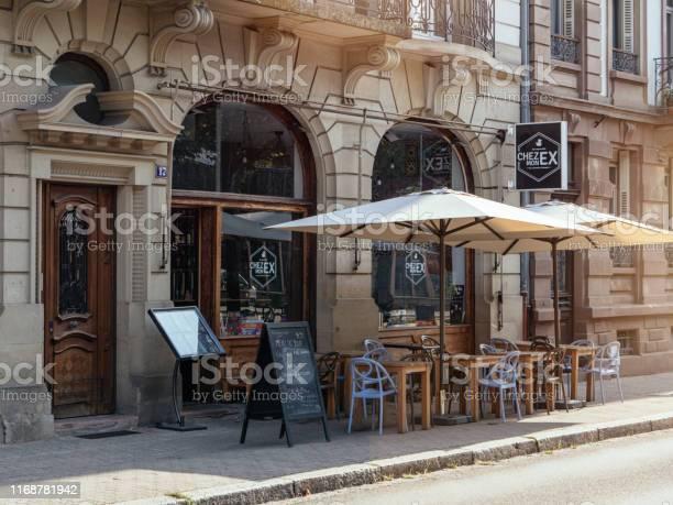 Open cafe bar terrace with empty places chez mon ex picture id1168781942?b=1&k=6&m=1168781942&s=612x612&h=sknjz8ucejtujmkltqlop5hpgorjatpfqxesgppouam=