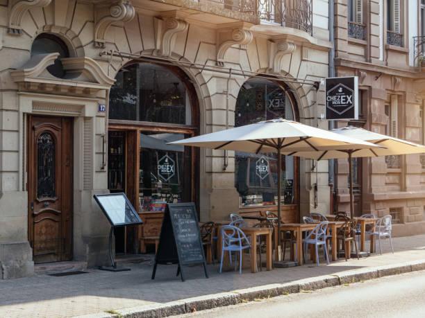 Open cafe bar terrace with empty places chez mon ex picture id1168781942?b=1&k=6&m=1168781942&s=612x612&w=0&h=spbaestnells0mug 6erbmdz2monxmp0d0 qankrdwm=