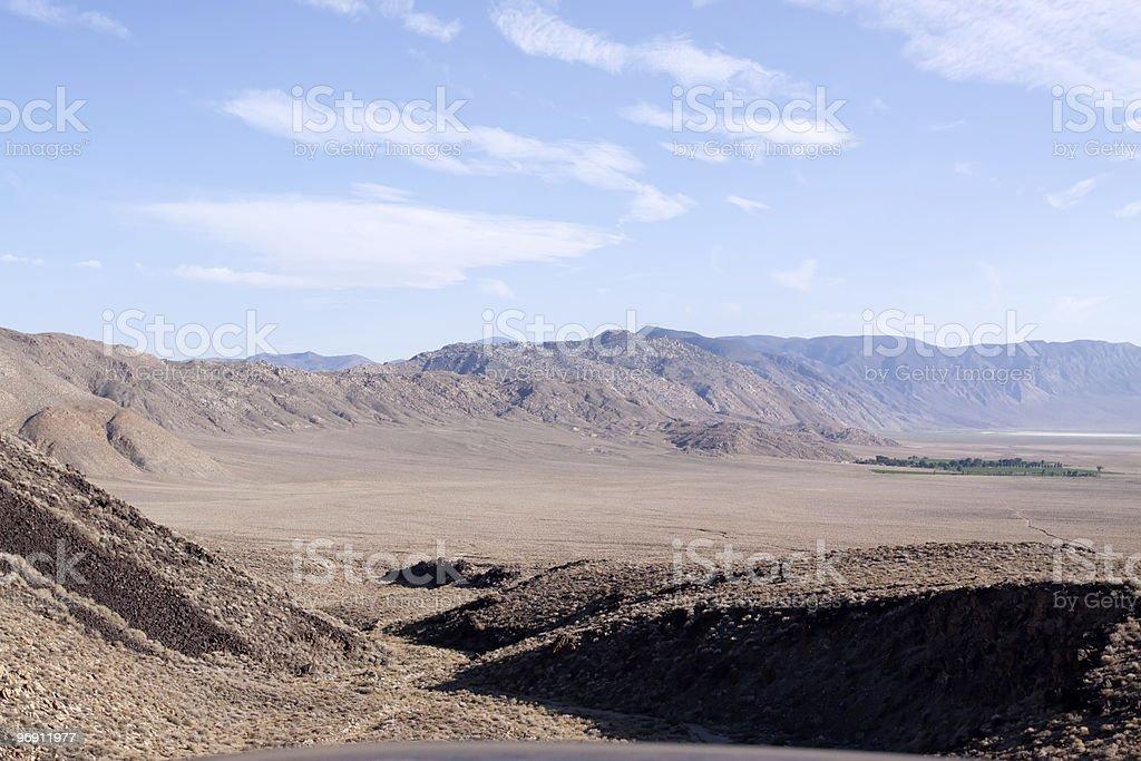 Open California desert royalty-free stock photo