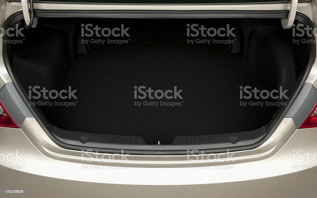 Open Car Trunk stock photo