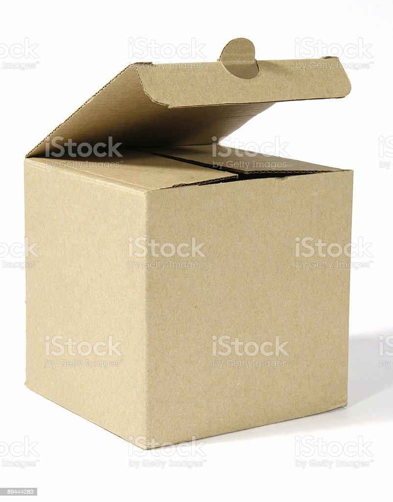 Formule ouvert en carton photo libre de droits