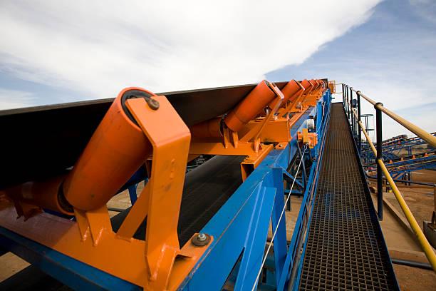 Open Cast Mining Operation stock photo