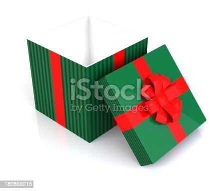 istock Open Christmas Gift 182869215