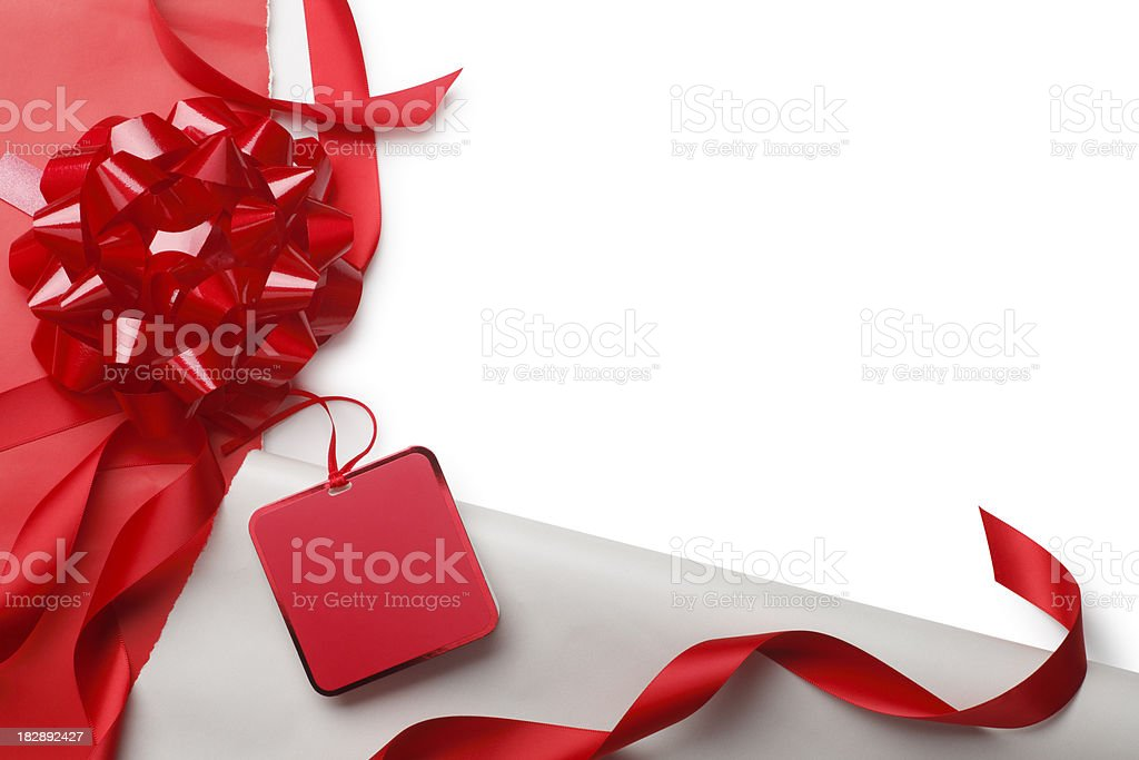 Open Christmas Gift stock photo