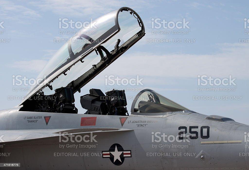 Open Cockpit stock photo