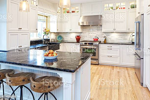 Open Concept Home Kitchen Remodeling Improvement And Addition Interior Design Stock Photo - Download Image Now