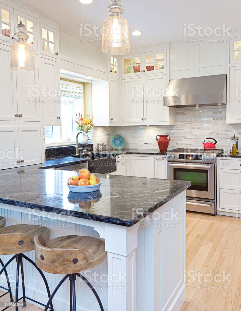 Open Concept Home Kitchen Remodeling Improvement And Addition Interior Design Stock Photo Download Image Now