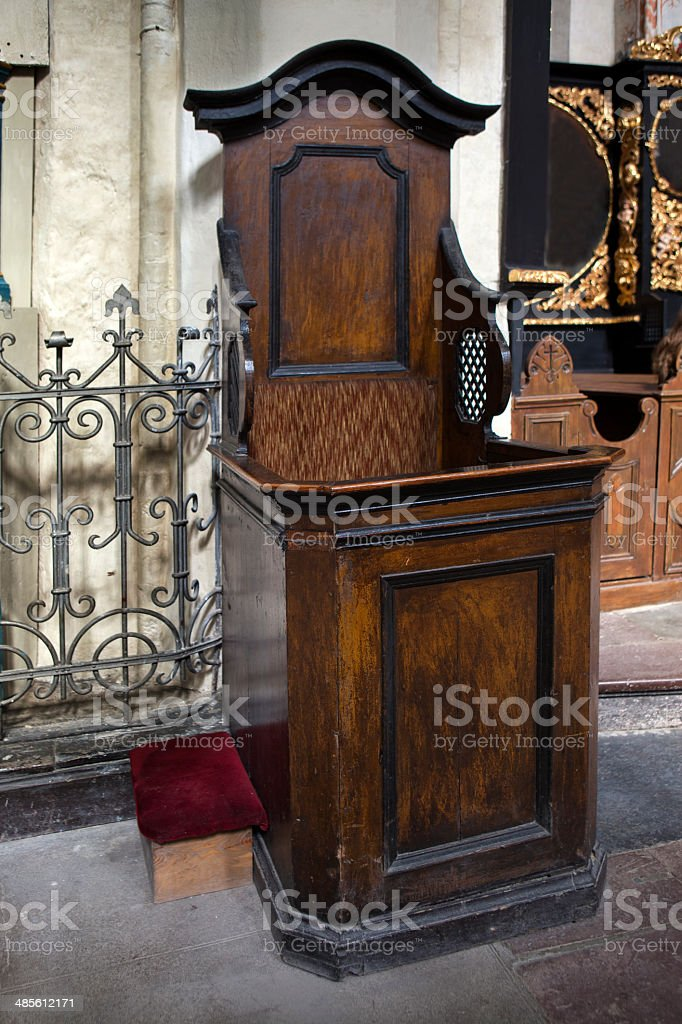 Open Confessional Booth Stock Photo Download Image Now Istock