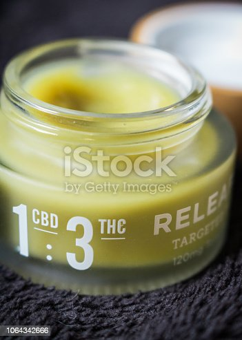 THC/CBD relief balm