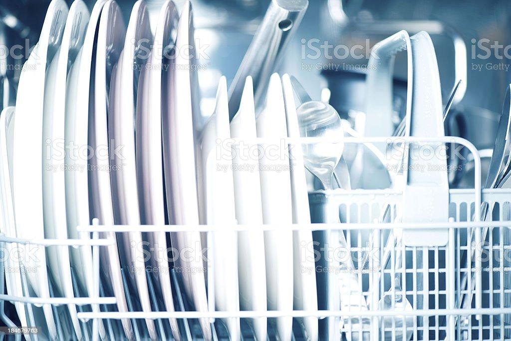 Open dishwasher foto