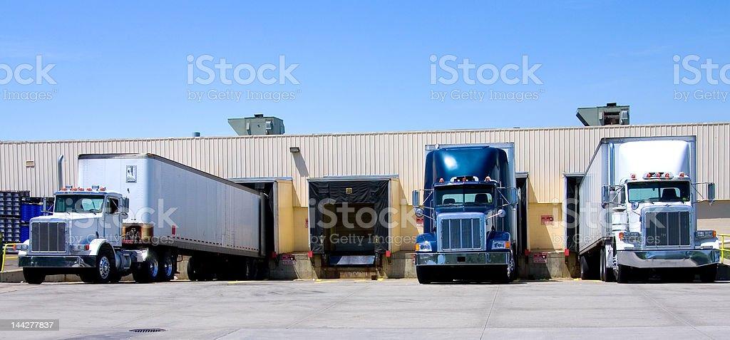Open Dock stock photo