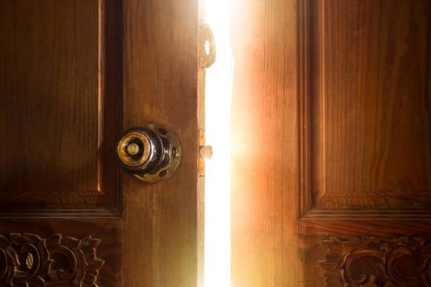 Offene Tür light – Foto