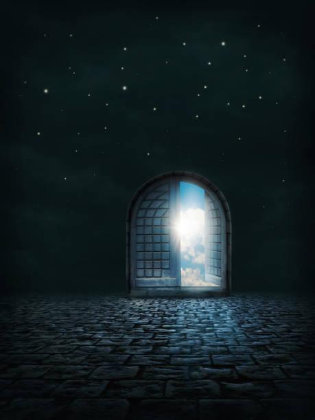 Offene Tür – Foto