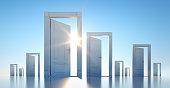 istock Open Door 1256177994