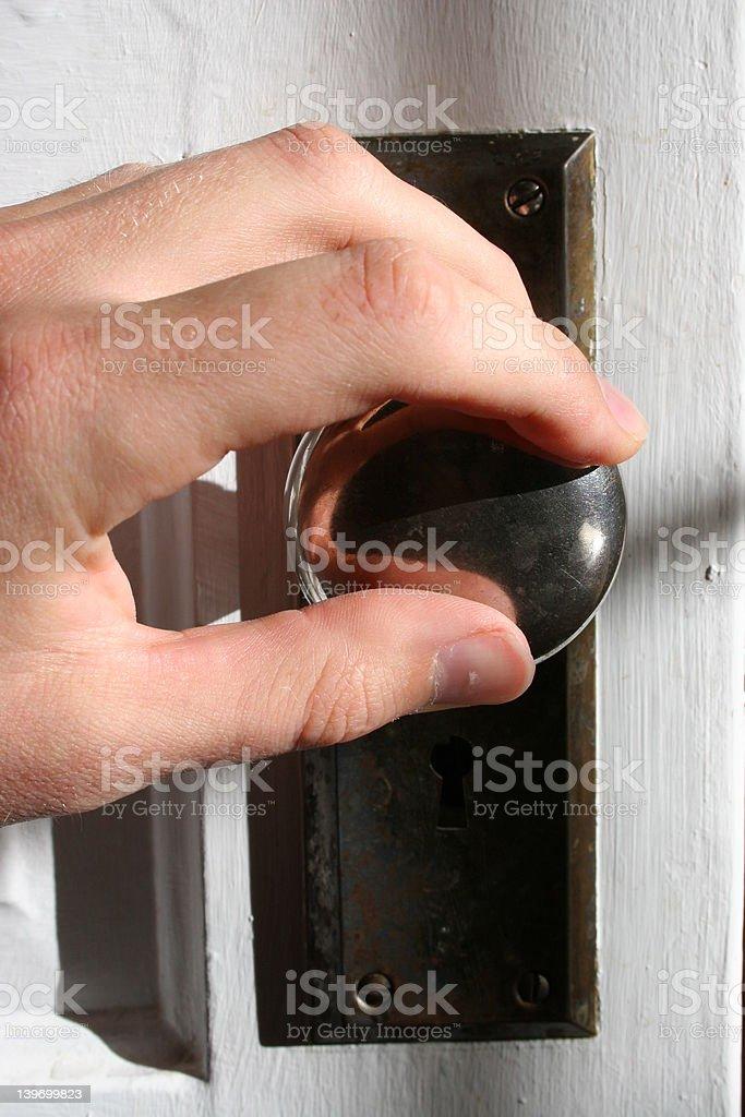 Open Door royalty-free stock photo