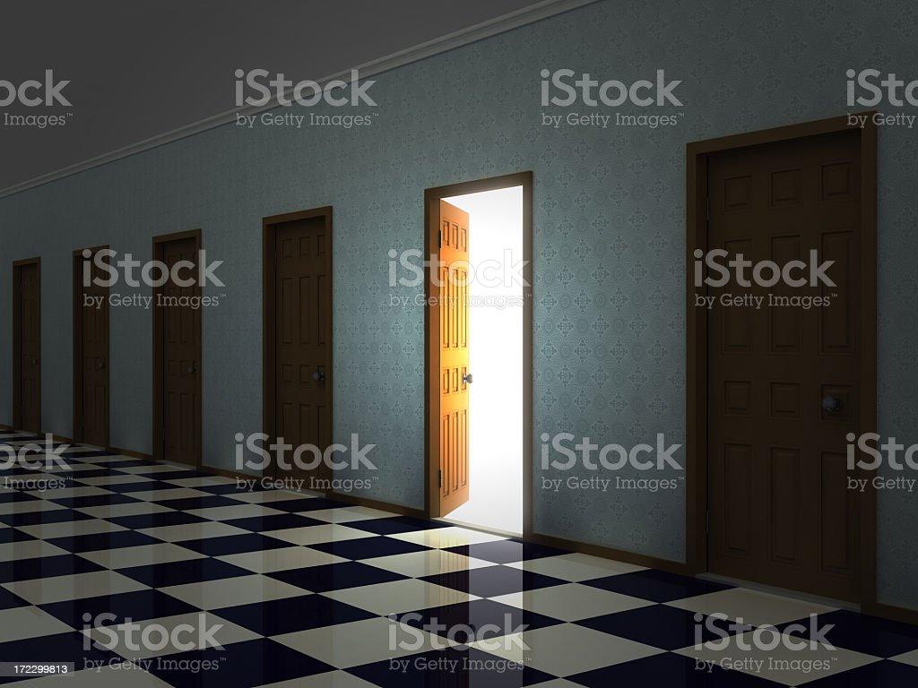 Open Door (Doors Concept IV) royalty-free stock photo