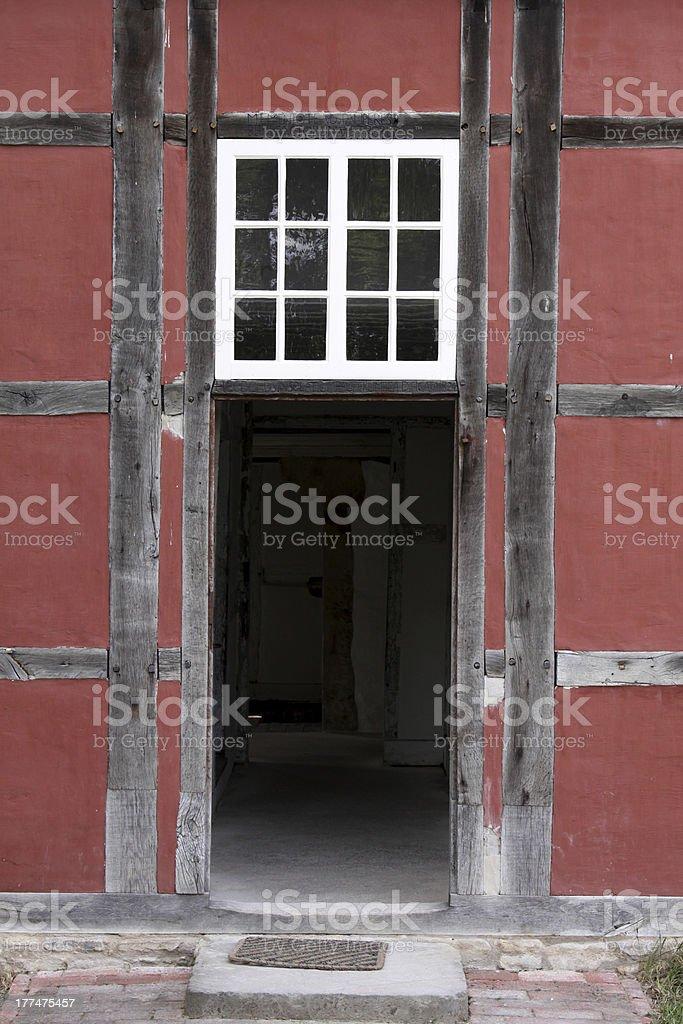 Open Door stock photo