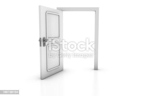 istock Open Door 186196194
