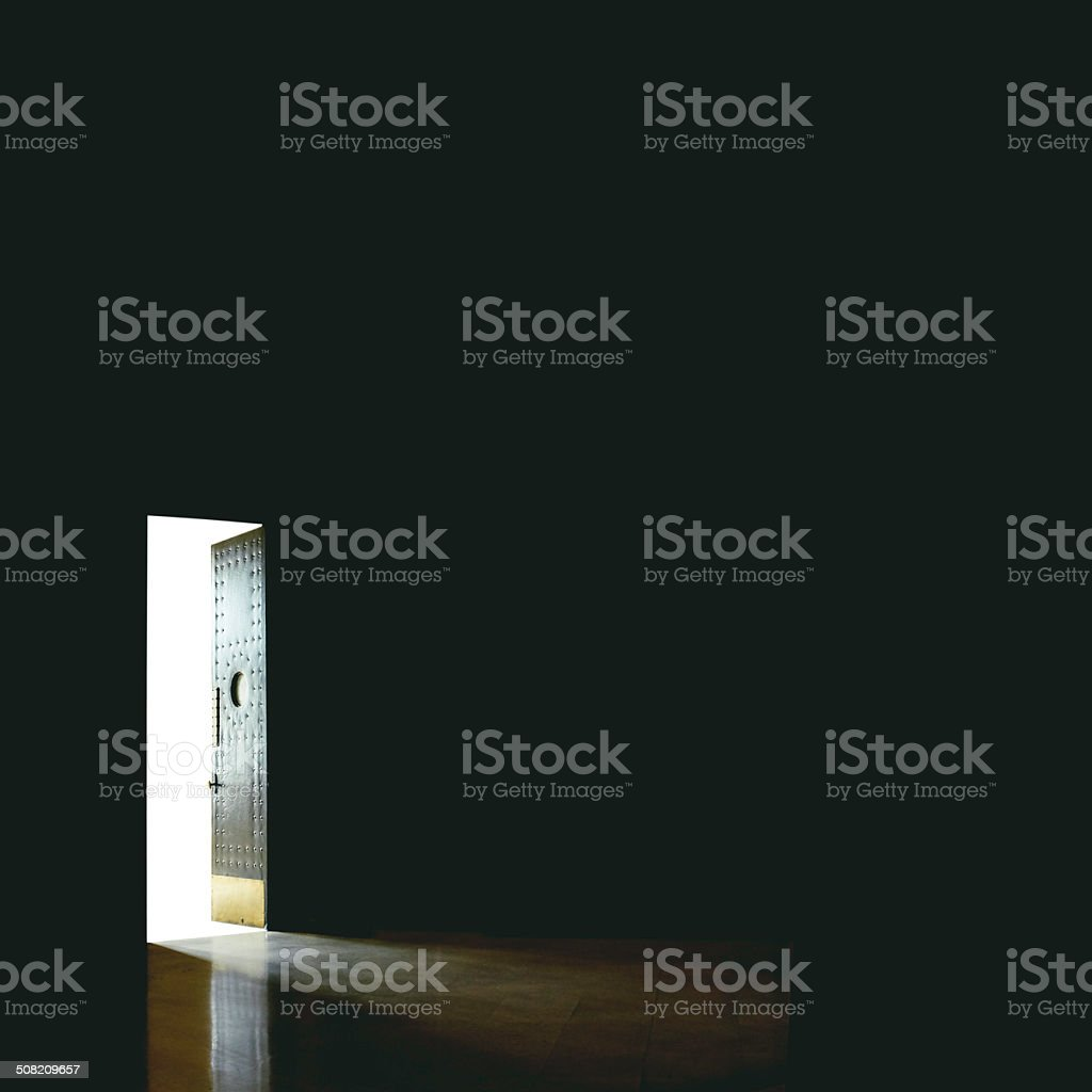 Open door stock photo