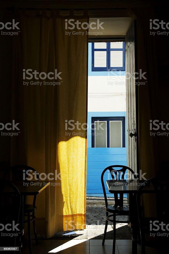 Open door royaltyfri bildbanksbilder
