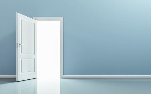 istock Open door 922736646