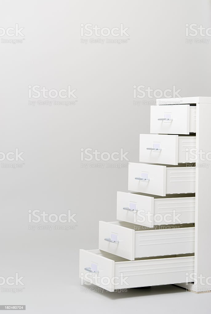 Open Drawer royalty-free stock photo