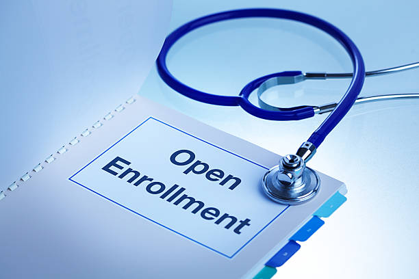 open enrollment obamacare affordable care act healthcare plan - open enrollment stock photos and pictures