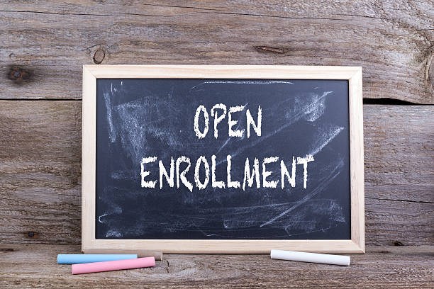 open enrollment on blackboard - open enrollment stock photos and pictures