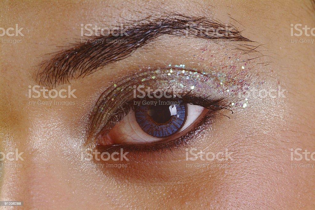 open eye stock photo