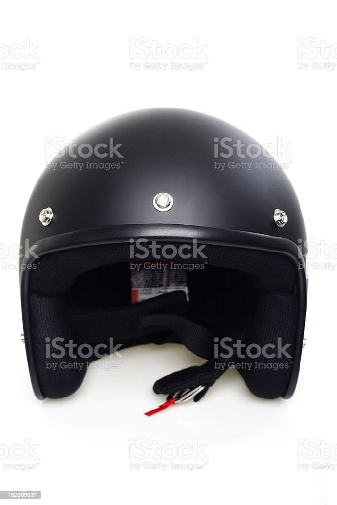 Open Face Helmet royalty-free stock photo