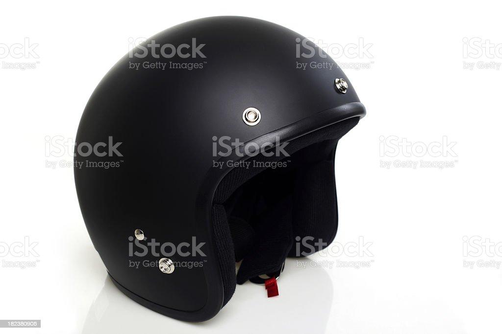 Open Face Helmet royalty-free stock photo