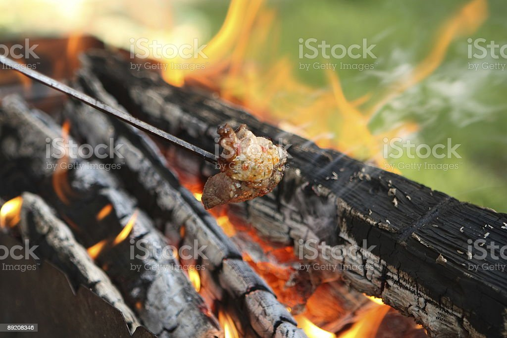 Open Flame BBQ Part 2 stock photo