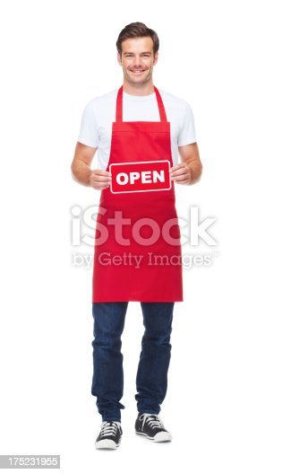 istock Open for business! 175231955