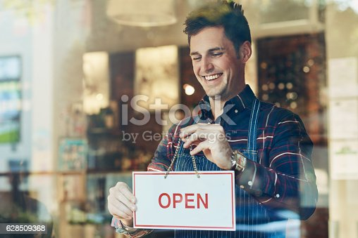 istock Open for business 628509368