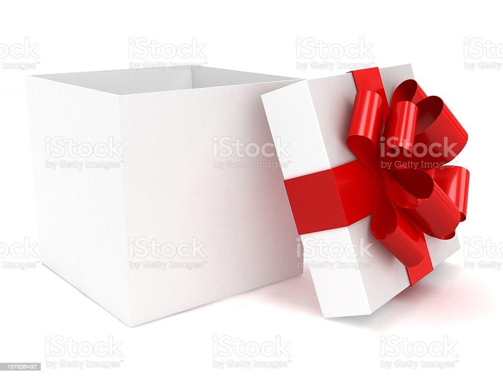Open Gift Box royalty-free stock photo