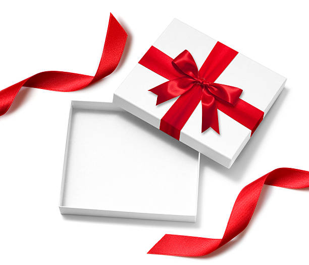 open gift box - gift box stock pictures, royalty-free photos & images