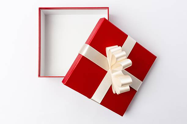 Royalty free gift boxes pictures images and stock photos istock open gift box top view stock photo negle Choice Image
