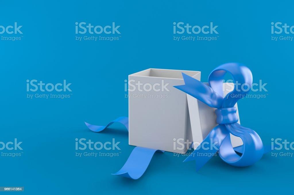 Öppet presentkort - Royaltyfri Band Bildbanksbilder